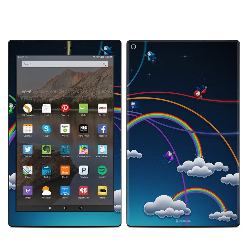 Rainbows Amazon Fire HD 10 (2017) Skin