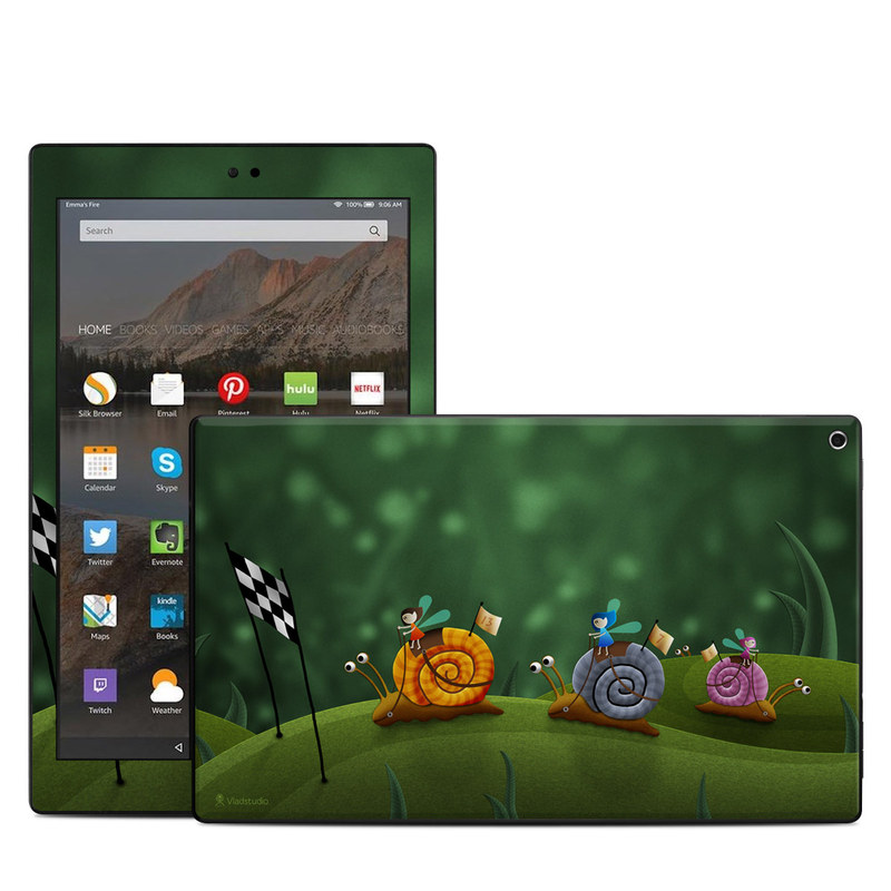 Snail Race Amazon Fire HD 10 (2017) Skin