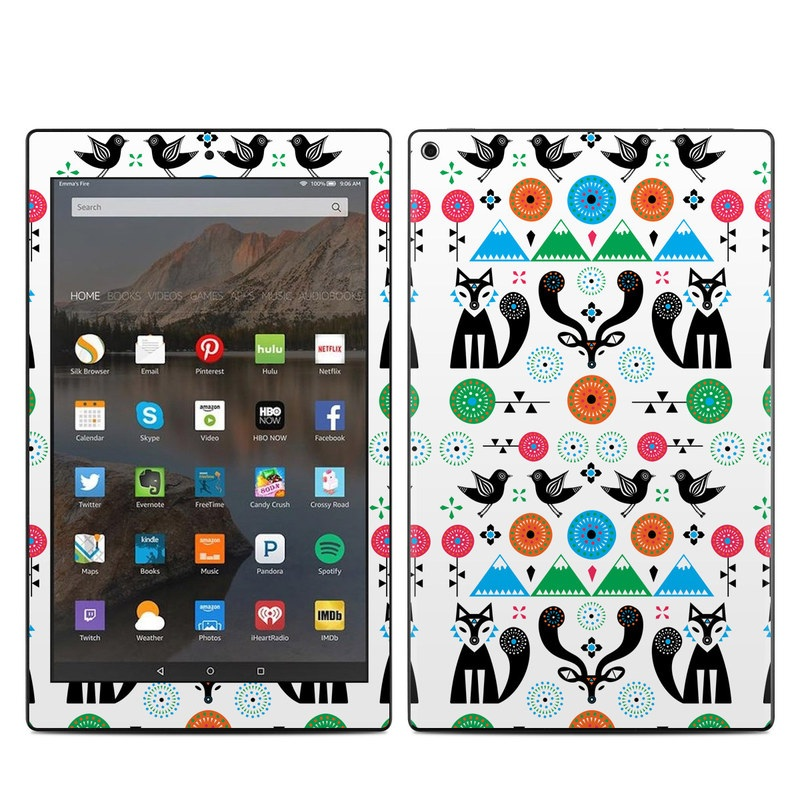 Winter Forest Amazon Fire HD 10 (2017) Skin