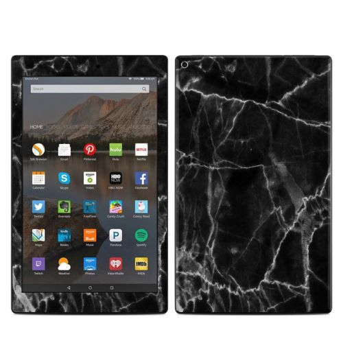 Black Marble Amazon Fire HD 10 2019 Skin