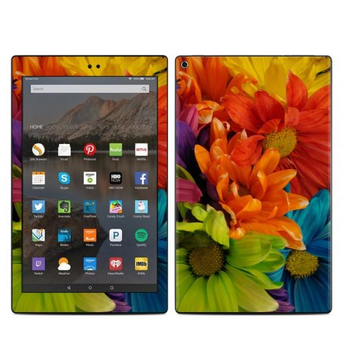 Colours Amazon Fire HD 10 2019 Skin