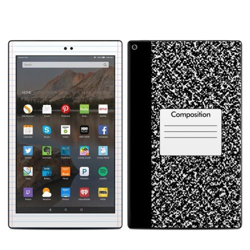 Composition Notebook Amazon Fire HD 10 2019 Skin