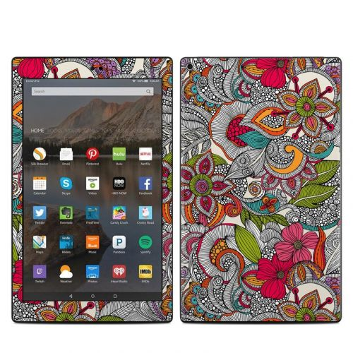 Doodles Color Amazon Fire HD 10 2019 Skin