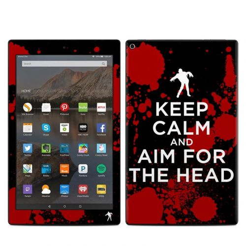 Zombie Amazon Fire HD 10 2019 Skin
