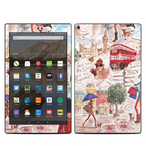 London Amazon Fire HD 10 2019 Skin