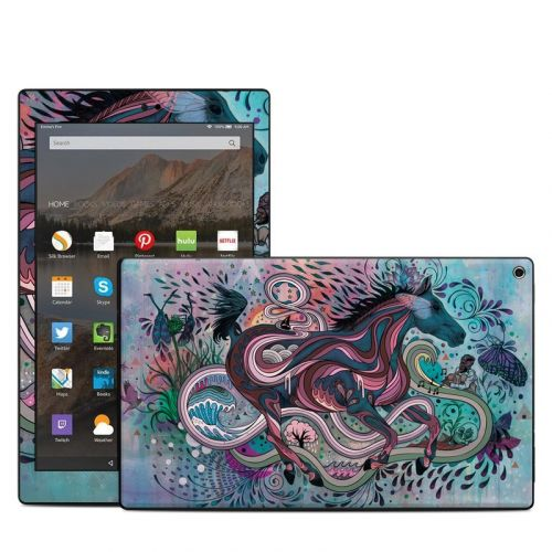 Poetry in Motion Amazon Fire HD 10 2019 Skin