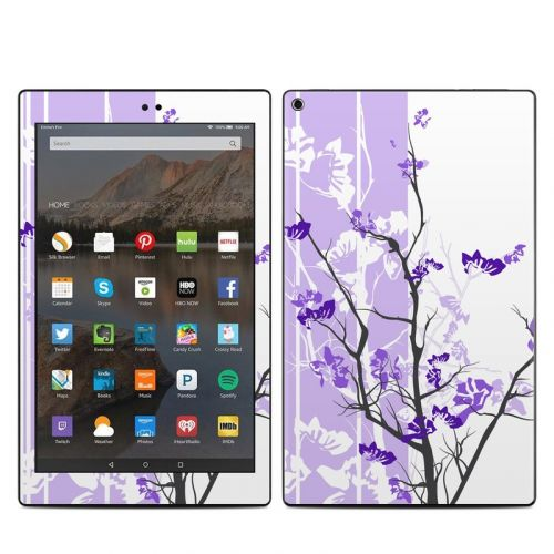 Violet Tranquility Amazon Fire HD 10 2019 Skin