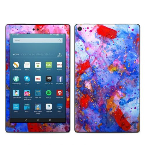 Aqua-ese Amazon Fire HD 8 (2017) Skin