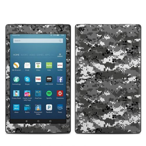 Digital Urban Camo Amazon Fire HD 8 (2017) Skin