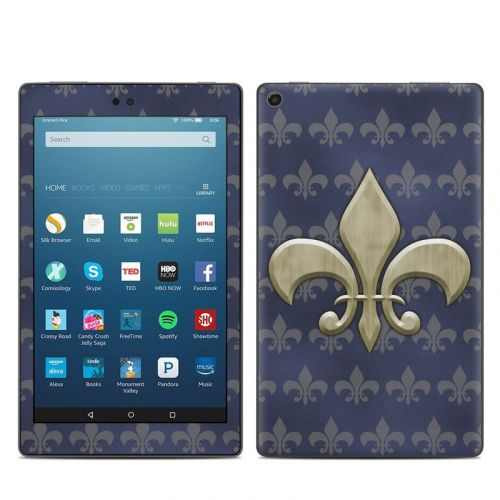 Fleur De Lis Amazon Fire HD 8 (2017) Skin