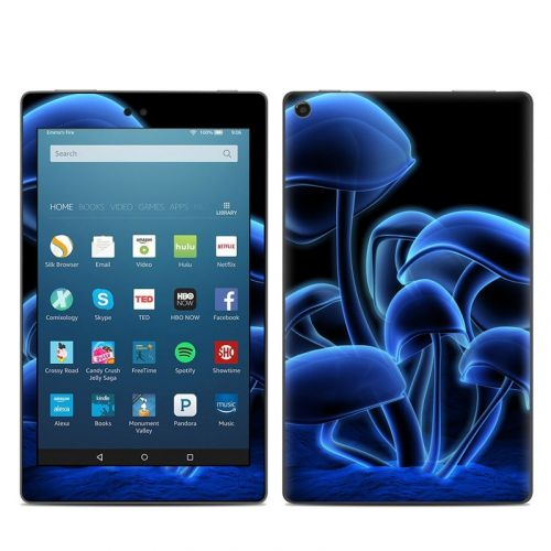 Fluorescence Blue Amazon Fire HD 8 (2017) Skin