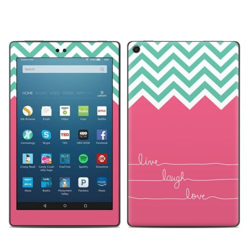 Live Laugh Love Amazon Fire HD 8 (2017) Skin