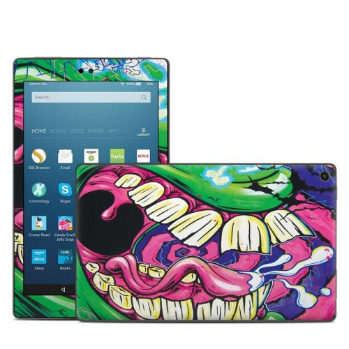 Mean Green Amazon Fire HD 8 (2017) Skin