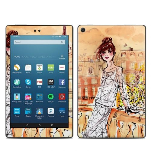 Mimosa Girl Amazon Fire HD 8 (2017) Skin