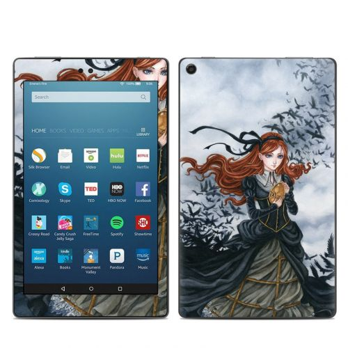 Raven's Treasure Amazon Fire HD 8 (2017) Skin