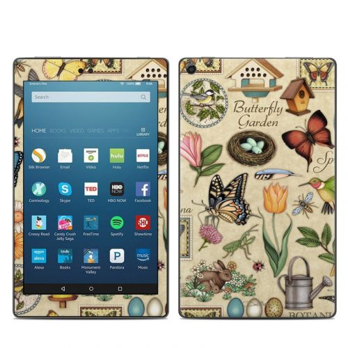 Spring All Amazon Fire HD 8 (2017) Skin