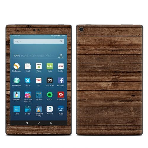 Stripped Wood Amazon Fire HD 8 (2017) Skin