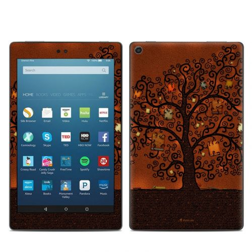 Tree Of Books Amazon Fire HD 8 (2017) Skin