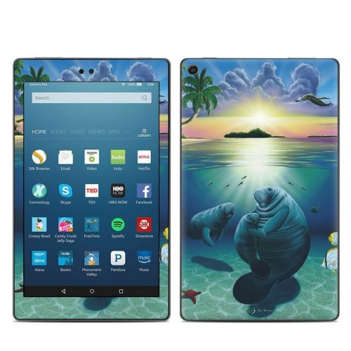 Underwater Embrace Amazon Fire HD 8 (2017) Skin