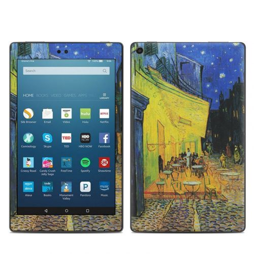 Cafe Terrace At Night Amazon Fire HD 8 (2017) Skin