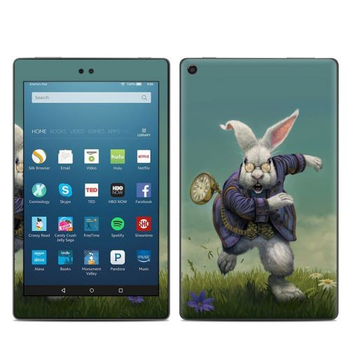 White Rabbit Amazon Fire HD 8 (2017) Skin