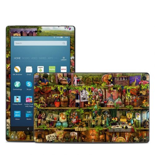 Wine Shelf Amazon Fire HD 8 (2017) Skin