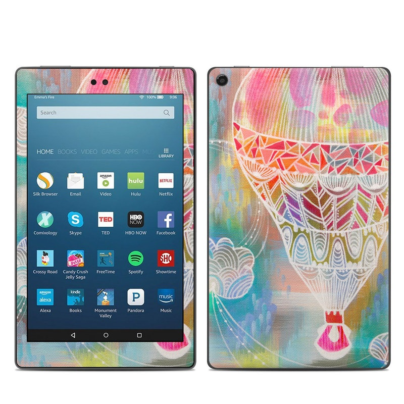 Balloon Ride Amazon Fire HD 8 (2017) Skin