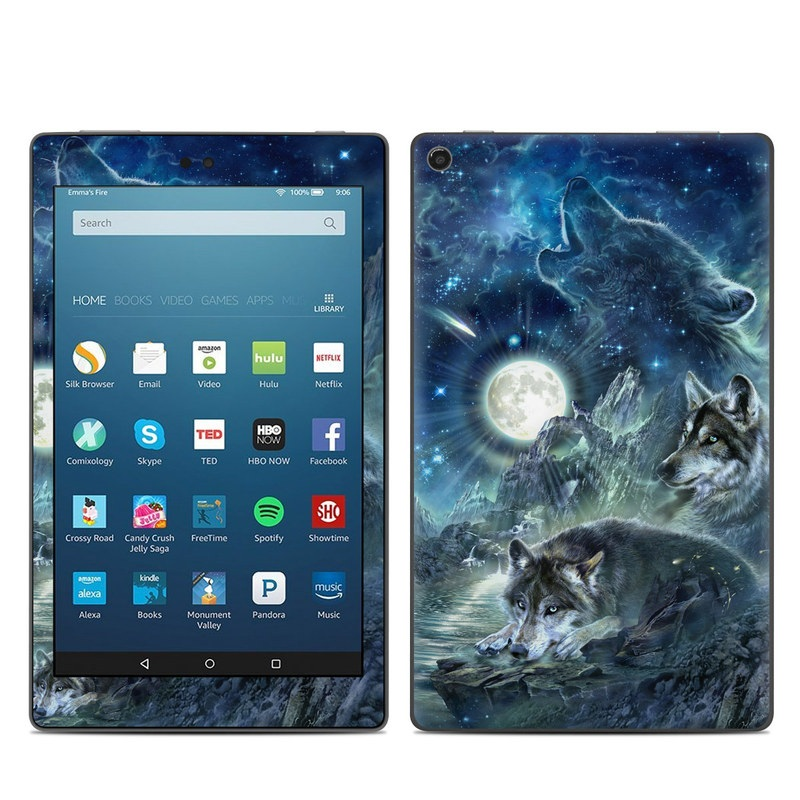 Bark At The Moon Amazon Fire HD 8 (2017) Skin