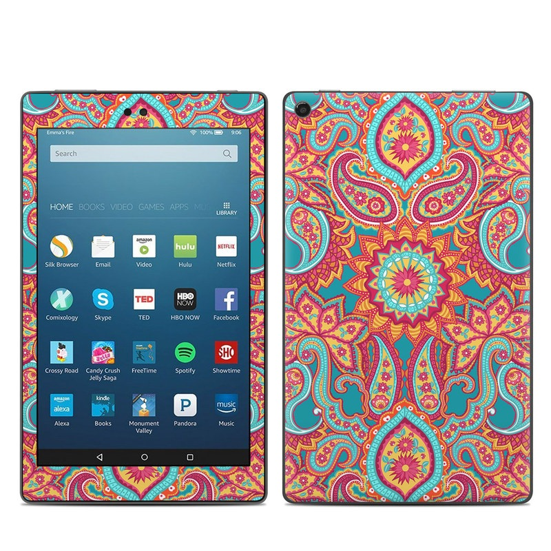 Carnival Paisley Amazon Fire HD 8 (2017) Skin