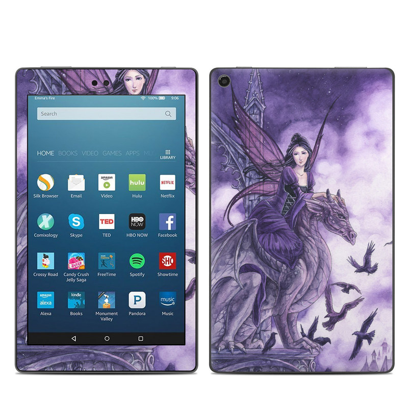 Dragon Sentinel Amazon Fire HD 8 (2017) Skin
