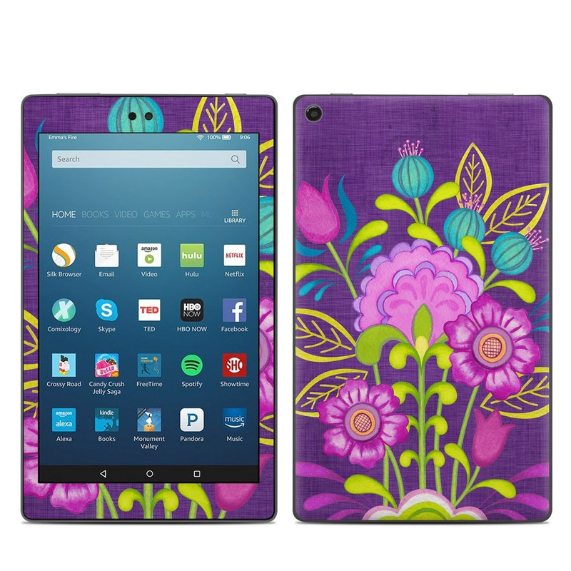 Floral Bouquet Amazon Fire HD 8 (2017) Skin