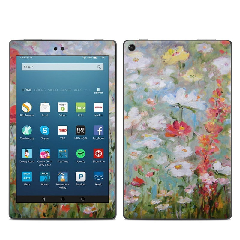 Flower Blooms Amazon Fire HD 8 (2017) Skin