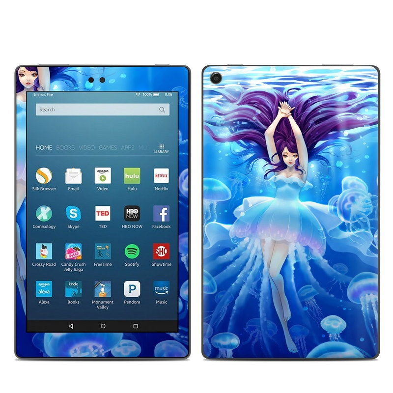 Jelly Girl Amazon Fire HD 8 (2017) Skin