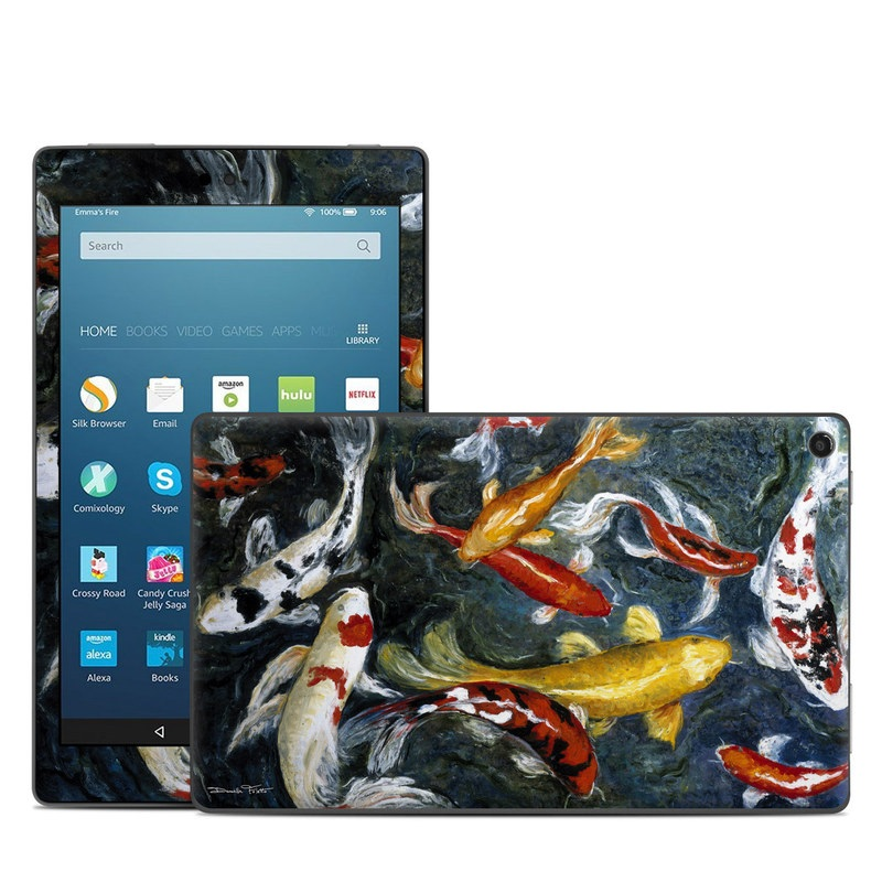 Koi's Happiness Amazon Fire HD 8 (2017) Skin