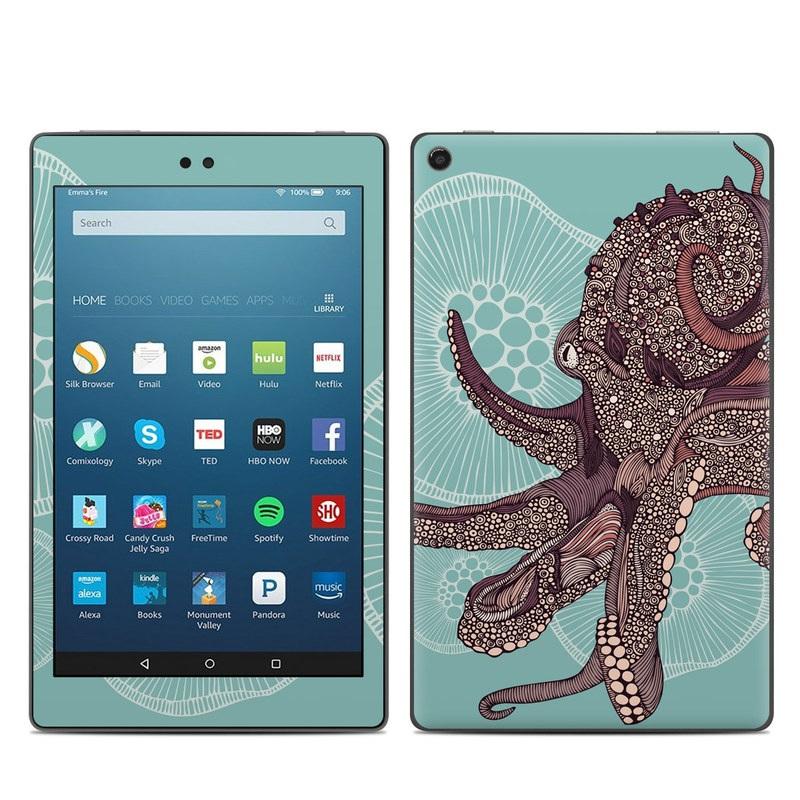 Octopus Bloom Amazon Fire HD 8 (2017) Skin