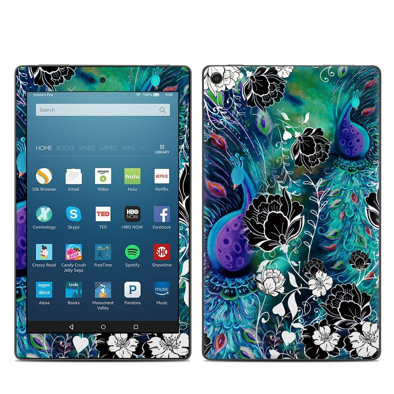 Peacock Garden Amazon Fire HD 8 (2017) Skin