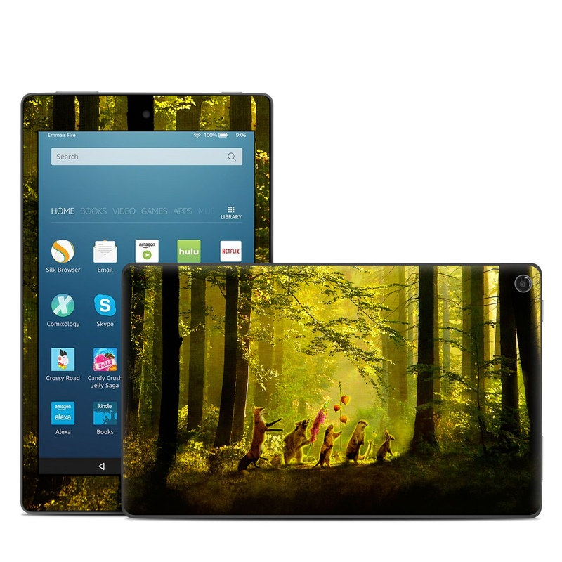 Secret Parade Amazon Fire HD 8 (2017) Skin