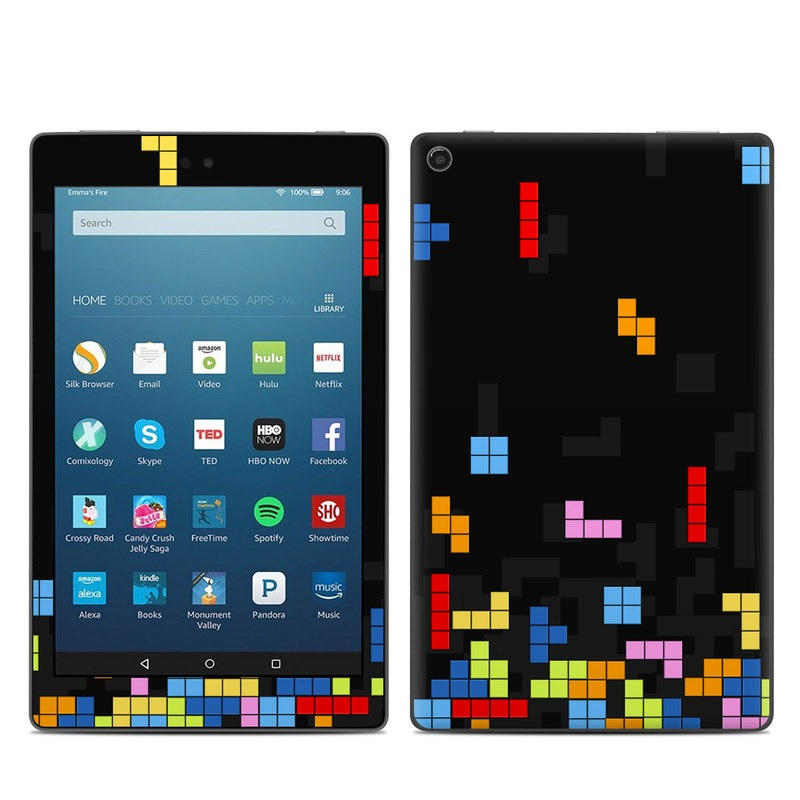 Tetrads Amazon Fire HD 8 (2017) Skin