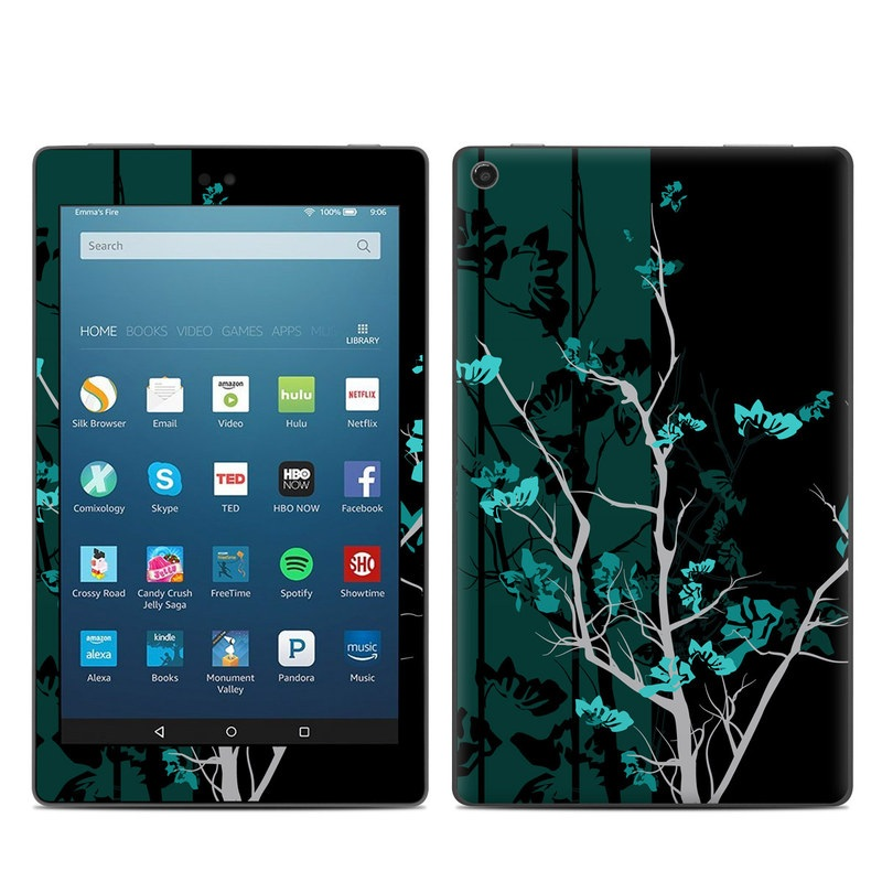 Aqua Tranquility Amazon Fire HD 8 (2017) Skin