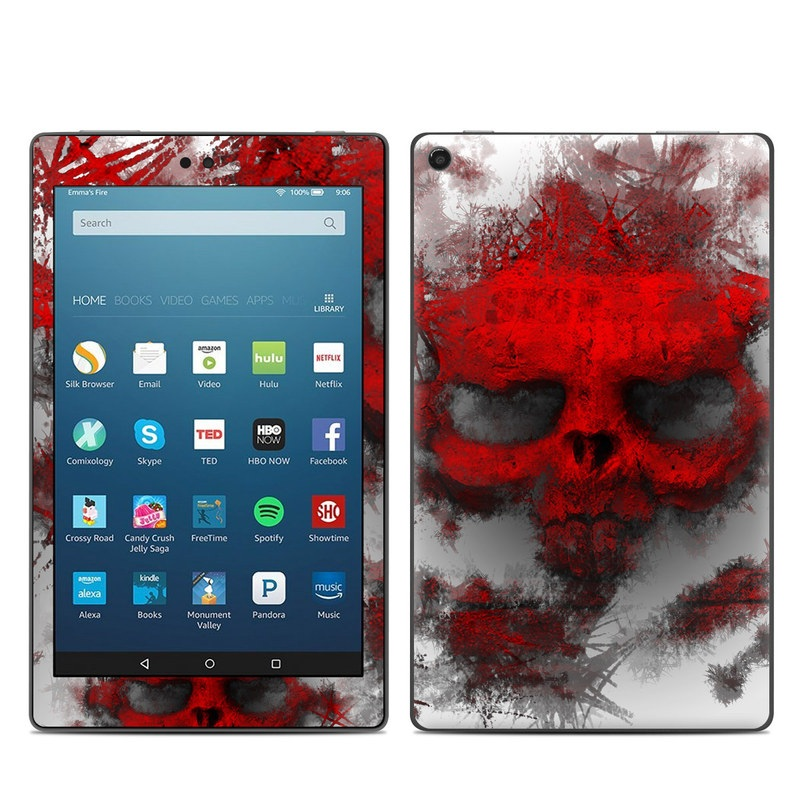 War Light Amazon Fire HD 8 (2017) Skin