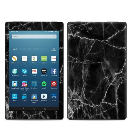 Black Marble Amazon Fire HD 8 2018 Skin