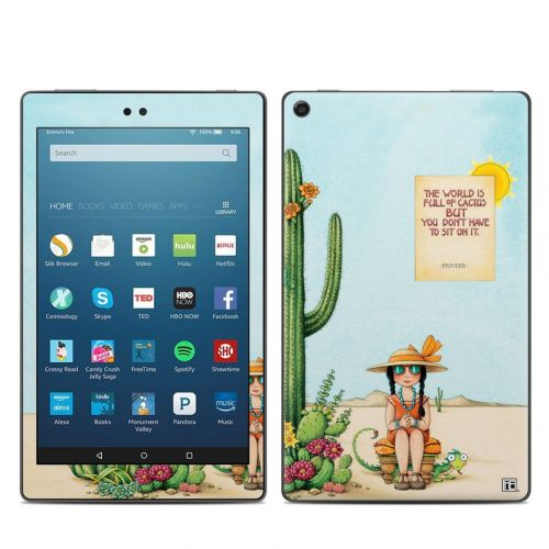 Cactus Amazon Fire HD 8 2018 Skin