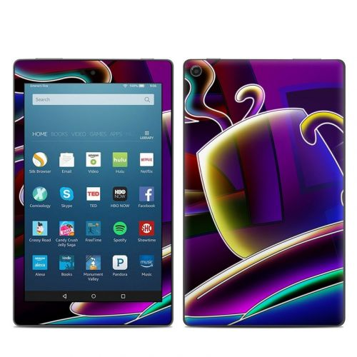 Coffee Break Amazon Fire HD 8 2018 Skin