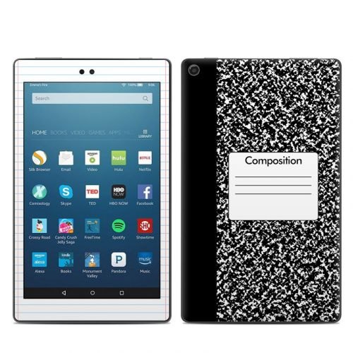 Composition Notebook Amazon Fire HD 8 2018 Skin