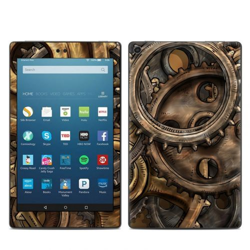 Gears Amazon Fire HD 8 2018 Skin