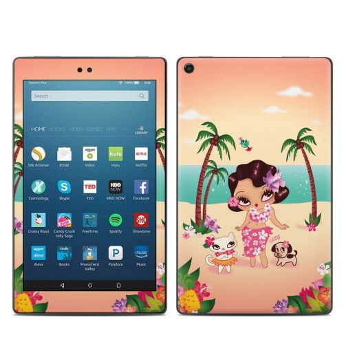 Hula Lulu Amazon Fire HD 8 2018 Skin