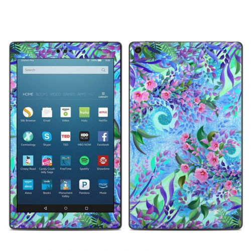 Lavender Flowers Amazon Fire HD 8 2018 Skin