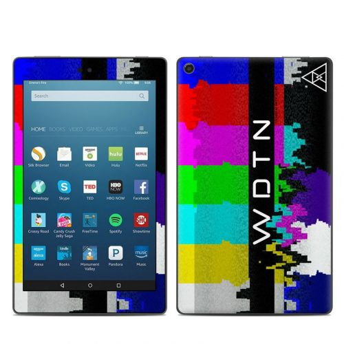 Lost Transmission Amazon Fire HD 8 2018 Skin