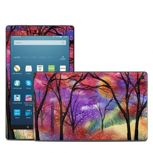Moon Meadow Amazon Fire HD 8 2018 Skin