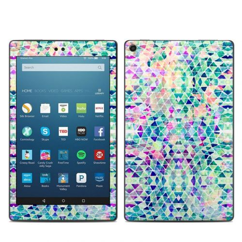 Pastel Triangle Amazon Fire HD 8 2018 Skin